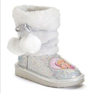 Disney Frozen Elsa & Anna Girls Glitter Boots 11